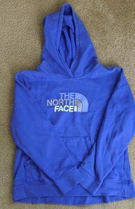 North Face boys hoodie EUC